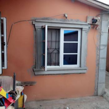 Modern Day Structure 2 Bedroom Flat and 2nos of Room Self Contained Sitting on 30 By 120, Ikola Road, Off Command, Ipaja, Lagos, Semi-detached Bungalow for Sale