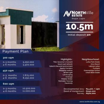 Northville Estate By Asiwaju Bola Tinubu Business District .. Selling Hot., Sangotedo, Ajah, Lagos, Residential Land for Sale