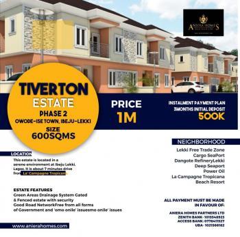 Tiverton Estate Phase 2, Akodo Ise, Ibeju Lekki, Lagos, Residential Land for Sale