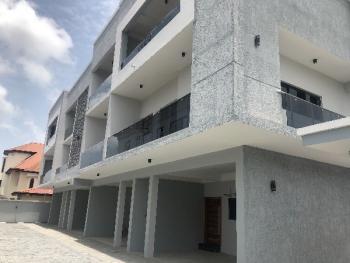Serviced 5 Bedroom Terrace Duplex with a Room Bq, Lekki Phase 1, Lekki, Lagos, Terraced Duplex for Rent