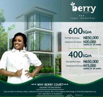Berry Court Estate Sagamu, Sagamu, Ogun, Land for Sale