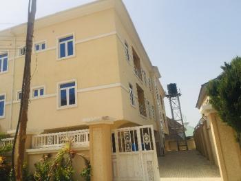 Newly Built 3 Bedroom Flat with a Room Bq, Garki, Abuja, Flat for Rent