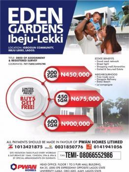 Eden Gardens, Igbodun Community, Folu Ise, Ibeju Lekki, Lagos, Mixed-use Land for Sale
