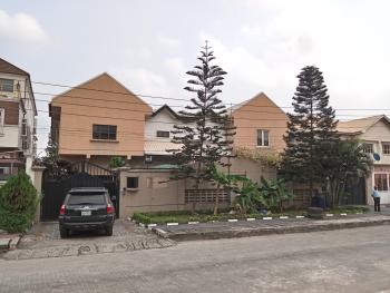 Fully Fitted and Well Improved 4 Bedroom Semi Detached House with a Room Boyquarter, Off Prince Adedeji Adenowo Street, Lekki Phase 1, Lekki, Lagos, Semi-detached Duplex for Rent