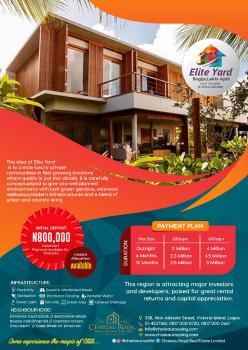 Elite Yard, Sapati Road, Bogije, Ibeju Lekki, Lagos, Mixed-use Land for Sale