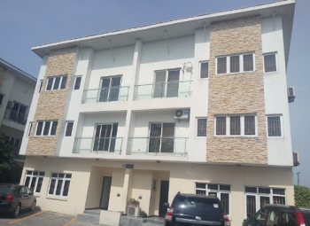 4 Bedroom Terraced Duplex Apartment with Bq, By Meadow Hall School, Off Lekki Epe Expressway, Ikate Elegushi, Lekki, Lagos, Terraced Duplex for Rent