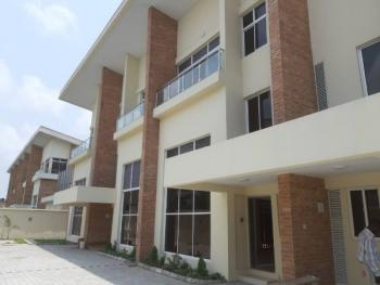 Nicely Finished 4 Bedroom Terraces with Bq, 24 Hours Power, Lekki Phase 1, Lekki, Lagos, Terraced Duplex for Rent