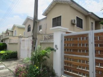 a Wing Duplex with a Room Bq in a Gated Estate at Lekki Phase 1, Oba Oyekan Estate, Lekki Phase 1, Lekki, Lagos, Semi-detached Duplex for Sale