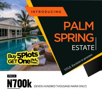 Palm Springs Estate  , Ibeju Lekki, Near The Lekki Sea Port, Ibeju Lekki, Lagos, Land for Sale