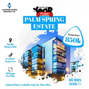 Palm Spring Estate, Akodo Ise, Ibeju Lekki, Lagos, Mixed-use Land for Sale