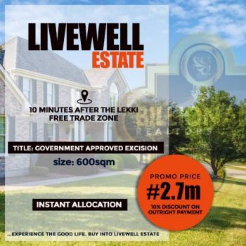 Livewell Estate, Eleko, Ibeju Lekki, Lagos, Residential Land for Sale