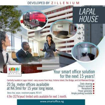 Smart Office Spaces, 235 Igbosere Road, Lapal House, Onikan, Lagos Island, Lagos, Office Space for Sale