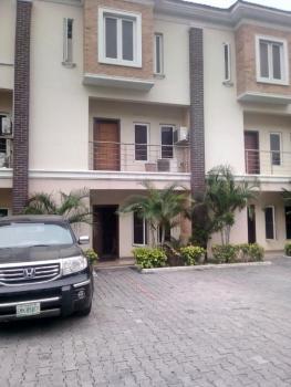 Luxury 4 Bedroom Terrace House with Bq, Saki Close, Osapa, Lekki, Lagos, Terraced Duplex for Sale
