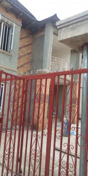 Newly Built Executive Foreign Culture 3 Bedroom Flat En Suite, Pop Ceiling, Water Heater, All Tiles Upstairs, Gemade Estate, Egbeda, Alimosho, Lagos, Flat for Rent