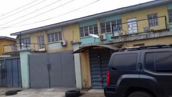 a Block of 3 Units of 3 Bedroom Flats, 1bq, 2 Units of 2 Bedroom Flats, 1 Bq, 1 Mini Flat, a Room Self on 781.779sqm, Ilupeju Estate, Ilupeju, Lagos, Block of Flats for Sale