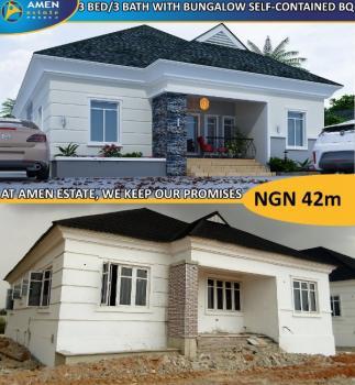 3 Bedroom Detached Bungalow + Bq Tastefully Finished @ Amen Estate, Amen Estate Phase 2, Eleko, Ibeju Lekki, Lagos, Detached Bungalow for Sale