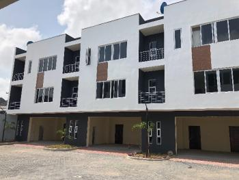 Fully Serviced 3 Bedroom with a Room Bq, Osapa, Lekki, Lagos, Terraced Duplex for Rent