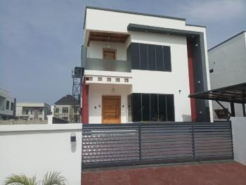 New Contemporary Luxury Detached Duplex  in a Service Fully Secured Estate, Chevron Axis, Lekki, Lagos, Detached Duplex for Rent