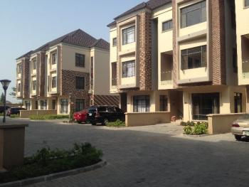 Luxury Fully Serviced 4 Bedroom Town House with Bq, Swimming Pool, Gym, Circle Mall Road, Osapa, Lekki, Lagos, Terraced Duplex for Rent