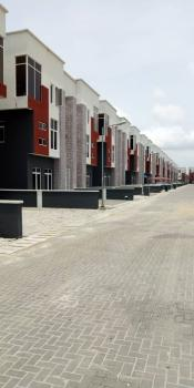 24hrs Serviced 4 Bedroom Detached House with a Room Bq, Osapa, Lekki, Lagos, Detached Duplex for Rent