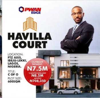 Havilla Court, Lekki Free Trade Zone, Lekki, Lagos, Residential Land for Sale