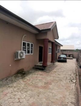 4 Bedroom Bungalow on a Plot, Before Elebu Market Oluyole Extension Ibadan, Ibadan, Oyo, Block of Flats for Sale