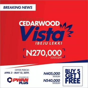 Sold Out! Vista 2 Coming Soon!!, Alatise, Ibeju Lekki, Lagos, Residential Land for Sale