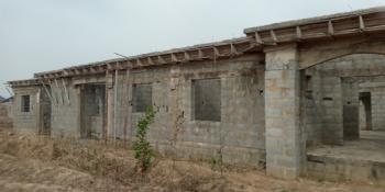 3 Bedroom Bungalow Carcass with 2 Rooms B/q, Old Airport Road, Gosa District, Idu Industrial, Abuja, Detached Bungalow for Sale