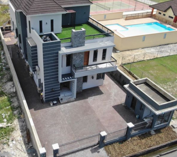 Luxury New Property with Pool, Gym, Automated Gate, Pinnock Beach Estate, Osapa, Lekki, Lagos, Detached Duplex for Sale