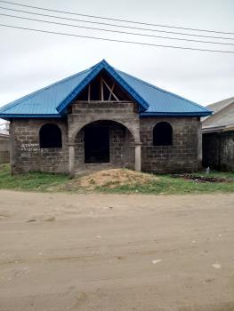 3 Bedroom Bungalow Carcass Built on Corner Piece 2 Plots of Land, Elesekan, Bogije, Ibeju Lekki, Lagos, Detached Bungalow for Sale