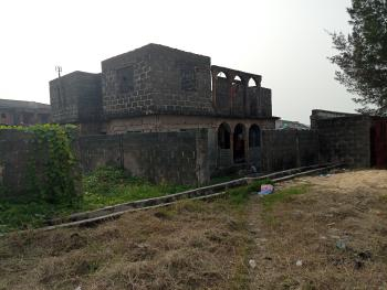 Half Plot of Land, Having Uncompleted Structure., Admiralty Homes Estate, Off Alpha Beach Road, Before Chevron, Igbo Efon, Lekki, Lagos, Residential Land for Sale