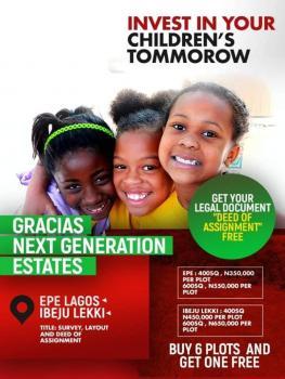 Gracias Court Ibeju Lekki, Epe, Lagos, Land for Sale