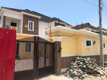 Prime Location Luxury 5 Bedroom Semi Detached with Bq and Gate House, Osapa, Lekki, Lagos, Semi-detached Duplex for Rent