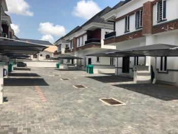 Prime Location So Beautiful Carefully Finished 4 Bedroom Semi Detached with Bq in a Gated Estate, Osapa, Lekki, Lagos, Semi-detached Duplex for Sale
