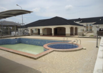 a Nicely Built 4 Bedroom Terrace and a Room Bq, Port Harcourt, Rivers, Terraced Duplex for Sale