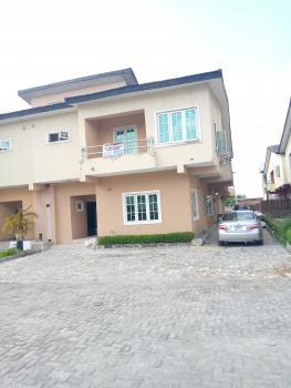 Serviced Four Bedroom with a Bq Semi Detached Duplex, Behind Lagos Business School, Lekki Gardens Estate, Ajah, Lagos, Semi-detached Duplex for Rent