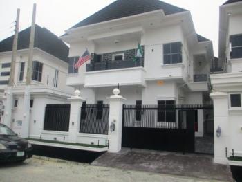 Luxury 4 Bedroom Detached Duplex with a Room Bq, Circle Mall, Osapa, Lekki, Lagos, Detached Duplex for Sale