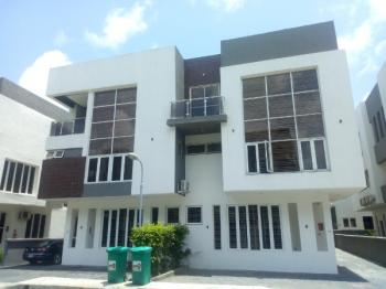 Newly Built Luxury Service 5 Bedroom Semi Detached Duplex with 2 Bq, Swimming Pool, Gymnasium, Meeting Hall. 24 Hours Power Supply, Osapa, Lekki, Lagos, Semi-detached Duplex for Sale