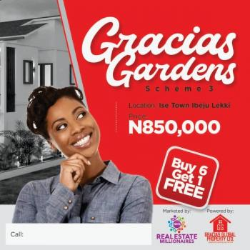 Wouldn't You Want a Home By The Lagoon ...gracias Scheme 3 ,ibeju Lekki, Position Urslf Today Within D Environment of Lekki Free Trade Zone ... .. Current Videos of Site Available on Request, Folu Ise, Ibeju Lekki, Lagos, Residential Land for Sale