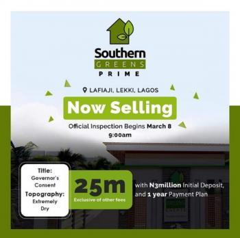 Southern Green Estate, Chevron Alternative Drive, Lafiaji, Lekki, Lagos, Land for Sale