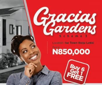 Gracias Gardens Inhabitable Estate, Akodo Ise, Ibeju Lekki, Lagos, Mixed-use Land for Sale