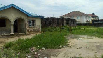 Land with Uncompleted Block of 6 Flats, Green Land Estate, Ajah, Lagos, Mixed-use Land for Sale