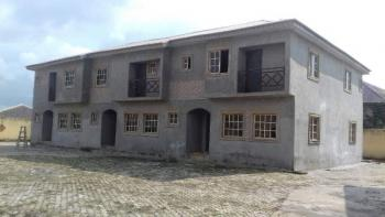 Decent 4 Bedroom Terraced Duplex, Abana Estate, Opposite Gabsol International School, Asolo, Mowe Ofada, Ogun, Terraced Duplex for Sale