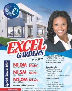 Excel Gardens Phase 2, La Campaine Tropicana, Ikegun, Ibeju Lekki, Lagos, Residential Land for Sale