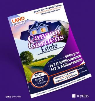 Land at Bogije, Canaan Gardens Estate, Agbowokariowo, Bogije, Ibeju Lekki, Lagos, Residential Land for Sale