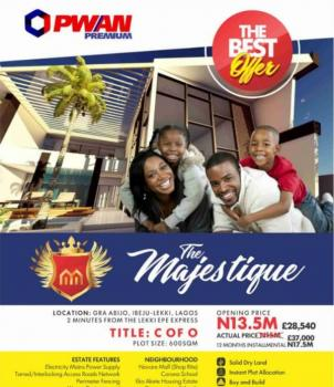 Land for Sale in Lagos  The Majestique Estate, Abijo Gra, Ibeju Lekki, Lagos., Ibeju Lekki, Lagos, Residential Land for Sale