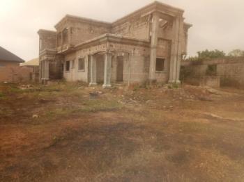 Unfinished 5 Bedroom Duplex All Insuit, Pipeline Road Oluku Benin City,edo State, Ovia North-east, Edo, Detached Duplex for Sale
