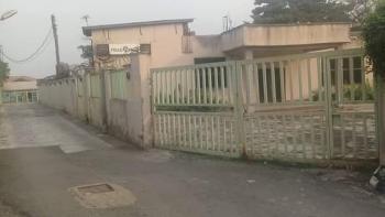 Standard Old Building on 1 Acre, Adeniyi Jones, Ikeja, Lagos, Block of Flats for Sale