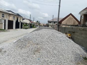 Brand New 3 Bedroom Terrace Flat Within a Gated Estate, Ocean Palm Estate, Shortly After Blenco Supermarket, Sangotedo, Ajah, Lagos, Terraced Bungalow for Sale