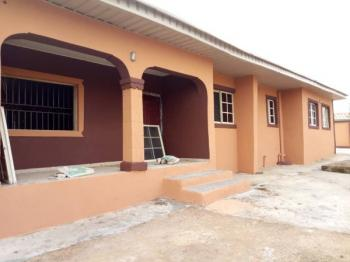 Newly Built of Twin Flat of 4&3 Bedroom Each on 2 and Half Plot, Eleyele, Ibadan, Oyo, Block of Flats for Sale